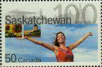 Postage Stamps - Canada 2005 Saskatchewan (1) UM
