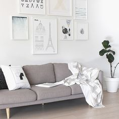 T.D.C | New Linen throw from the Quiet Geometry Collection by Kate & Kate