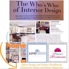Aspire Design in House and Home Magazine