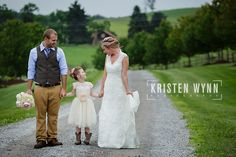 Sarah and Mark – Married – Ceremony and Reception at Armstrong Farms Fieldstone Barn | Kristen Wynn Photography