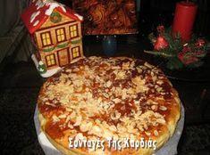 ΣΥΝΤΑΓΕΣ ΤΗΣ ΚΑΡΔΙΑΣ: Βασιλόπιτα τσουρέκι Greek Desserts, Christmas Baking, Cake Cookies, Sweet Tooth, Pie, Pudding, Breakfast, Blog, Recipes