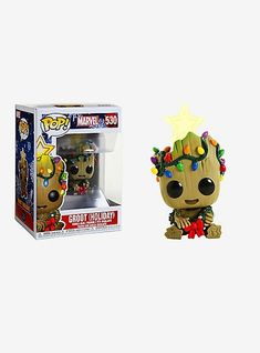 Marvel Guardians of the Galaxy Groot (Holiday) Vinyl Bobble-HeadFunko Pop! Marvel Guardians of the Galaxy Groot (Holiday) Vinyl Bobble-Head, Funk Pop, Disney Pop, Funko Pop Marvel, Best Funko Pop, Funko Pop Dolls, Pop Figurine, Pop Toys, Funko Pop Vinyl, Vinyl Figures