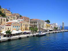 Rhodos island of Simi maggio - Greece