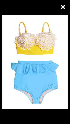 Found this on Etsy! Search: vendor store  I found the best girlie vintage bathing suits!