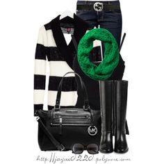 """""""Green, Black and White"""""""