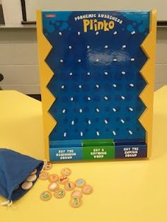Plinko-fun game for kids to work on articulation, vocab, language, and sequencing, from Speech Lady Liz. Pinned by SOS Inc. Resources. Follow all our boards at http://pinterest.com/sostherapy for therapy resources.  Repinned by Apraxia Kids Learning. Come join us on Facebook at Apraxia Kids Learning Activities and Support- Parent Led Group. https://m.facebook.com/groups/354623918012507?ref=bookmark
