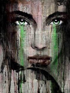 "Saatchi Art Artist Loui Jover; Painting, ""nordica"" #art"