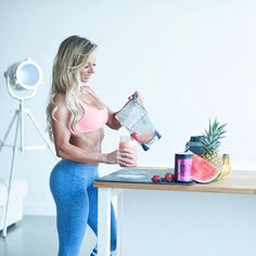 "Making a #SHREDZ BCAA smoothie. The prefect ""sweet tooth"" fix! Email me to find out how you can get 30%-50% off on all Shredz Supplements and how to get a FREE Duffle Bag Shaker cup Pre Workout AND a FREE diet adjustment! PaigeHathawayFit@Gmail.com - I don't feel ""motivated"" everyday. Some days I don't feel like working out. Some days I struggle with eating healthy. If I have a bad day - I most certainly do NOT let that bad day turn into a bad week month year. If you feel yourself slipping…"