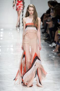 Blumarine at Milan Spring 2016- Runway Photos