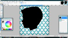 silhouette tutorial on JonesDesignCo.  I've been wanting to make silhouettes for so long!