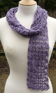 Crochet Scarf Pattern.