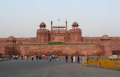 The largest of old Delhi's monuments is the Lal Quila or the Red Fort. In 1638 Shah Jahan shifted the Mughal Empire's capital from Agra to Delhi. The Red Fort stands at the eastern edge of Shahjahanabad, and gets its name from the massive wall of red sandstone that defines its eight sides. Designed by the Mughal architects Ustad Hamid and Ahmad, Red Fort is an important symbolic monument in India even today.