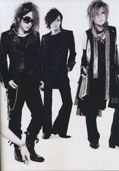 Ruki. Kai. Uruha. The GazettE.