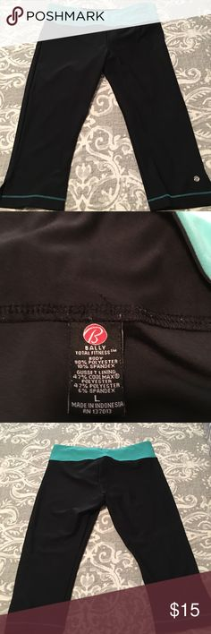 Bally Fitness yoga Cute worn once Bally Pants Capris