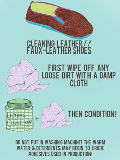 Shoe Care 101 - Cleaning leather/faux-leather shoes