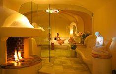 Tepidarium mit Bergkristall in der Thermenwelt Hotel Pulverer 5* in Österreich http://www.pulverer.at/wellness-sauna-bad-kleinkirchheim.de.htm