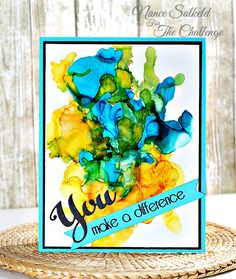 Soul Stampin' : The Challenge #72 - You Make A Difference
