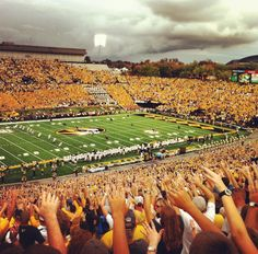 Football Saturday #mizzou #homecoming
