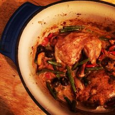 Immune boosting Moroccan Chicken Stew Hemsley and Hemsley style