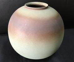 Vase from the same trip as the rice bowls. Purchased Gyokudō Kamamoto, and finally photographed to put on a blog post about Sado and Mumyoi Ware.  Blog:  https://notanexpatblog.wordpress.com/