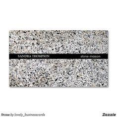 Stone Business Card #stone #marble #businesscards #tiler #mason #skilltrade #kitchentops #carpenter #businessowner