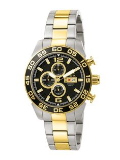 Men's Specialty Two Tone Watch by Invicta Watches on Gilt.com