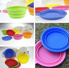 Amapower Portable Travel Cat Collapsible Pet Feeding Bowl Silicone Dish -- Make sure to look into this incredible product. (This is an affiliate link). Cheap Pet Supplies, Party Supplies, Cat Feeding, Dog Harness, Dog Walking, Cheap Home Decor, Something To Do, Cute Animals, Home And Garden