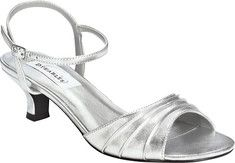 Women's+Dyeables+Brielle+-+Gold+Metallic+with+FREE+Shipping+&+Exchanges.+A+classic+adjustable+strap+shoe+with+gathering+detail+in+satin+or+metallic.