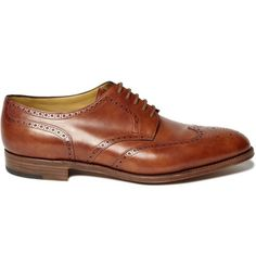 Groom Shoes: Dare to be different with JOHN LOBB  DARBY II WING-TIP LEATHER BROGUES