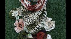 Blusa Flor de Outono - YouTube