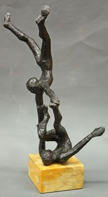 *Peter Rockwell--Two Acrobatic Figures--page 321-2