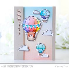 Up in the Air Stamp Set and Die-namics - Keeway Tsao  #mftstamps