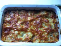 Lasagne out of English Weight Watchers Cookbook