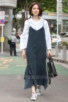 Sattsun   OUTRO SOL rataroki NO BRAND CONVERSE ZARA   4th week  Jun. 2016   Omotesando   Tokyo Street Style   TOKYO STREET FASHION NEWS   style-arena.jp