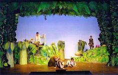 Image result for peter pan stage props