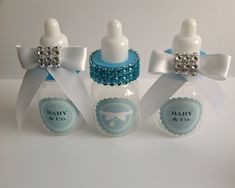 Tiffany & co baby shower favors by Marshmallowfavors on Etsy, $22.00