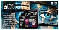 22 Beautiful Premium Parallax Scrolling WordPress Themes