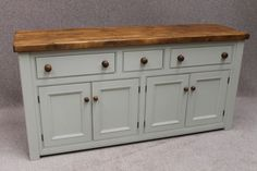 RECLAIMED PINE SIDEBOARD KITCHEN UNIT. A fantastic addition to our Cotswold range of furniture; these beautiful hand crafted pieces of furniture...