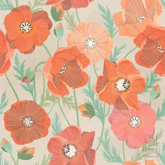 101 Florals + Poppies+  by LindsayJuneNohl, via Flickr