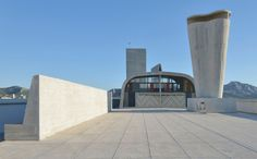 Le Corbusier's Cité Radieuse Rooftop to Host Contemporary Art Center