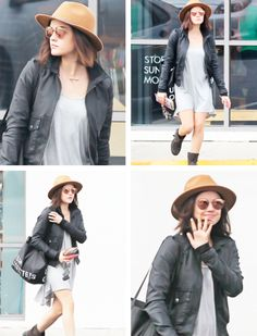 Lucy Hale leaving Urban Outfitters in Los Angeles | January 20th, 2015