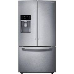Samsung-RF28HFEDBSR 28 Cu. Feet. French-Door Fridge with CoolSelect Pantry and Freezer Drawer, Stainless-Steel - Energy Star