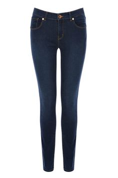 These classic skinny jeans are the perfect everyday pair; featuring a mid-rise, five pocket-styling and a super-stretchy construction for a comfortable fit. Fashion Now, Latest Fashion Clothes, Womens Fashion, Ss 15, Summer Wardrobe, New Outfits, Warehouse, Indigo, Hair Beauty