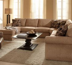 $3540 from sofasandsectionals.com Fabric #8614-82, layout C Veronica 6170 Full Sleeper Sectional | Broyhill