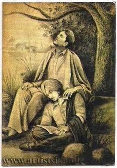 A Very Beautiful Painting.....Of Two Great Sufi Singers