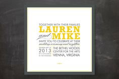 COCKTAIL HOUR Wedding Invitations by Ariel Rutland | Minted