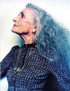 Daphne Selfe, 81 year old model
