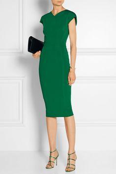 Victoria Beckham Stretch-knit dress NET-A-PORTER.COM