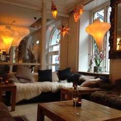 Lovely organic hotel in Copenhagen Danmark. Axel Guldsmeden.