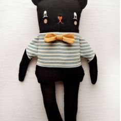 The Black Apple bear